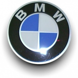 Emblem D58MM für Nabenkappe leicht gewölbt