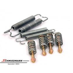 Reparatursatz Federn Feststellbremse zu  E81 E87 E88 E82 E46 E90 E91 E92 E93 F30 F31 F34GT F32 X1 (E84)