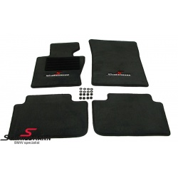Fussmatten Satz  Schmiedmann Sport Edition schwarz zu X3 E83